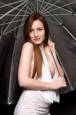 Boudoir Under the Lighting Umbrella 8x12